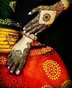 #mehendi #henna #hand #feet #bridal #design