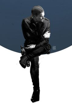 Wentworth Miller (Leonard Snart / Captain Cold) by mick347.deviantart.com on…