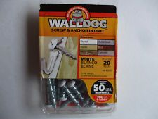 Walldog Screw And Anchor In One Supports 50 700lbs Drywall Concrete Steel Wood Concrete Steel Drywall