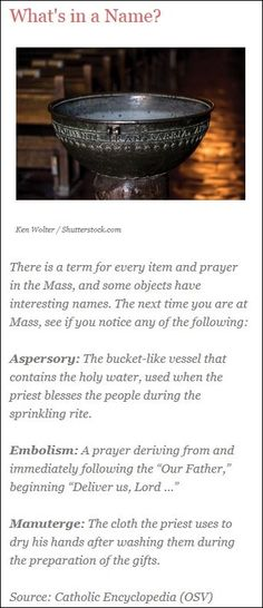 A lesson in Catholic vocabulary, by Mark Shea