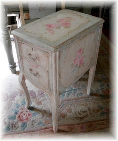 Antique Roses French Chic Keepsake Chest by Debi Coules