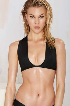 Nasty Gal Band of Renegades Bandage Bikini Top