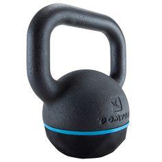 20€ 8 kg Deportes Fitness Material de Gimnasio,Yoga - PESA RUSA KETTLEBELL 8 Kg DOMYOS - Material de Musculación-Tonificación