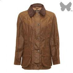 Barbour Ladies' Beadnell Wax Jacket – Bark - LWX0051BR31