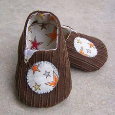 Come fare pantofole bimbo - Tutorial - Cartamodello