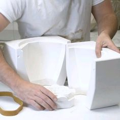 Slipcasting a large planter Hammerly Ceramics is part of diy_crafts - diy_crafts Ceramic Planters, Ceramic Clay, Ceramic Pottery, Pottery Art, Large Planters, Ceramic Studio, Keramik Design, Beton Design, Ceramic Techniques