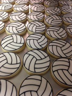 One Dozen Volleyball Decorated Sugar Cookies by SSCookieCo on Etsy https://www.etsy.com/listing/203117044/one-dozen-volleyball-decorated-sugar