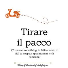 Day 20 of 100 Days of Italian Idioms by instantlyitaly.com