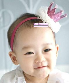 Birthday Princess Pink Crown Headband