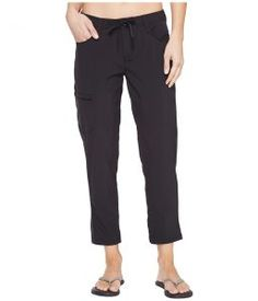 Toad&Co Jetlite Crop Pants (Black) Women's Casual Pants