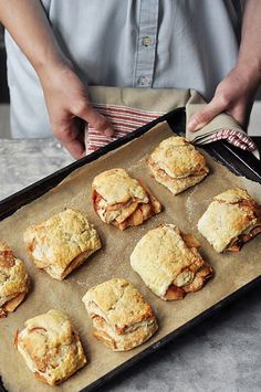 Apple Pie Biscuits from Joy the Baker for the KAF Baking Bootcamp