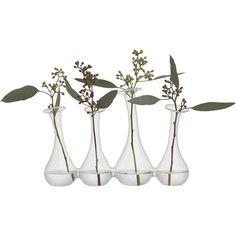 4-some bud vase|CB2