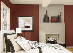 Benjamin Moore : Clydesdale Brown 2092-10 Thunder AF-685 Cream Froth 2158-70