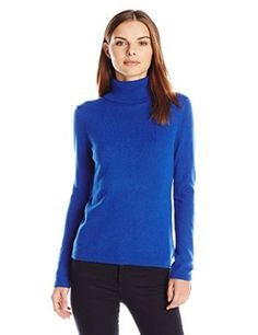 Lark & Ro Women's 100% Cashmere Slim-Fit Turtleneck Sweater from $31.99 by Amazon BESTSELLERS