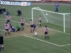 Droy scores from an Ian Hutchinson long throw-in. The first game I went to at Stamford Bridge was a 3-3 draw.