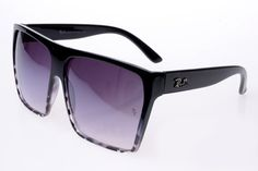 Ray Ban Clubmaster RB2128 Sunglasses Black Frame Bright Purple Lens