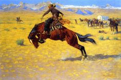 Image detail for -Frederic Remington Paintings - Oil Paintings by Frederic Remington