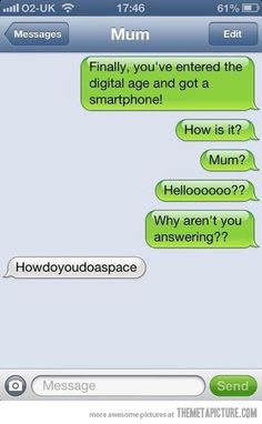 Hello, mom?