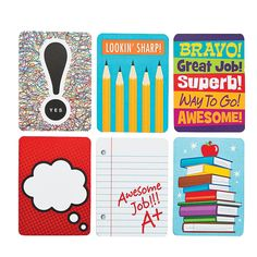 Notes From Your Teacher Cards  Recognize good work, achievements, improved behavior and more.  - OrientalTrading.com