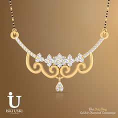Shop ‪#‎online‬ for ‪#‎traditional‬ and ‪#‎contemporary‬ ‪#‎Gold‬, ‪#‎Diamond‬ ‪#‎Mangalsutra‬ in ‪#‎classy‬ ‪#‎designs‬ at IskiUski with best price deals!! Shop Now: http://goo.gl/1Zw9cu