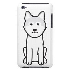 Icelandic Sheepdog Dog Cartoon iPod Case-Mate Cases