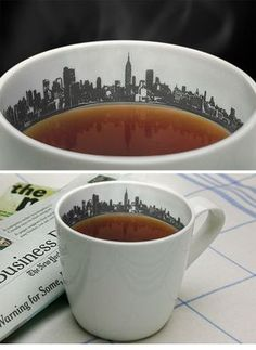 Anatoliy Omelchenko is raising funds for Skyline Cup on Kickstarter! The Skyline Cup lets you wake up and have your coffee with the city that never sleeps. Coffee Love, Coffee Shop, Coffee Cups, Sweet Coffee, Kitchenware, Tableware, Cute Cups, Cool Mugs, My Cup Of Tea
