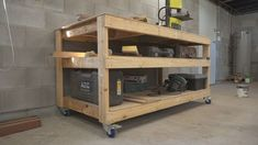 Picture of Simple Mobile Workbench/Assembly Table