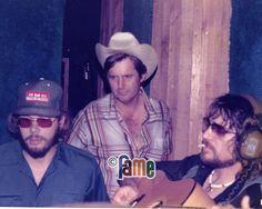 Hank Jr, Rick Hall and Waylon Jennings
