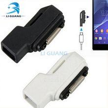 Newest  Micro USB to Magnet Charger Adapter Converter For Sony Xperia Z3 Z2 Z1 Z Ultra Z3 Compac mini L39H XL39H Z2 Tablet iPhone Hrvatska - Najbolja online kupovina za vas ! | iPhone.hr