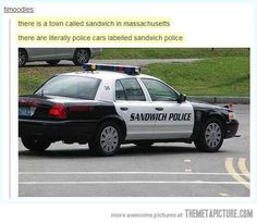 How does one become a police officer of sandwiches, because I'm very interested...