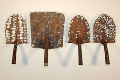 She Transforms Rusty Old Shovel Heads Into Gorgeous Works Of Art! This Is Incredible...