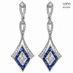 Beverley K Earrings Lotus Jewelry, Blue Stones, Exotic, Sapphire, Jewels, Drop Earrings, Crafts, Style, Ear Rings