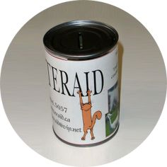 Critteraid Donation Tins:  Our Donation Tins continue to provide us with coins on an ongoing basis and we are grateful to the merchants who display our tins on their store counters. Please contact us (info@critteraid.org) if you are interested in hosting one of our donation tins at your place of business or if you would like to Volunteer in one of the Okanagan communities to manage a charity tin route.