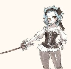 Levy McGarden's a pirate! - Fairy Tail