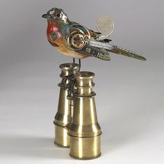 From an excellent collection of steampunk birds.