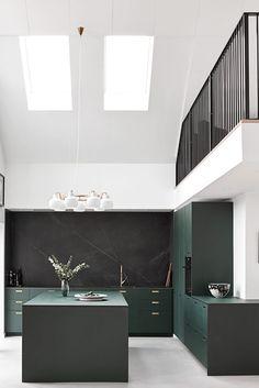Kitchen Interior Architecture Industrial Design - Home decor interests Interior Modern, Decor Interior Design, Interior Architecture, Home Decor Kitchen, Kitchen Interior, Home Kitchens, Kitchen Design, Interior Office, Small Kitchens