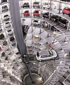 #Arquitecture #Parking #Cars