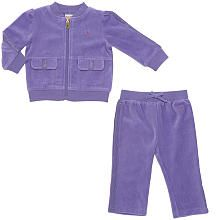 "Truly Scrumptious Girls' 2-Piece Velour Track Suit - Purple - Heidi Klum - Babies ""R"" Us"