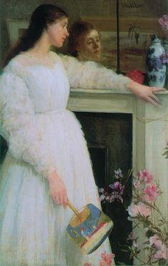Painting by James Abbott McNeil Whistler (1834-1903)