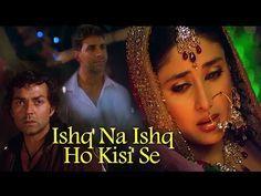 Ishq Na Ishq Ho Kisi Dosti Friends Forever Akshay Kumar Kareena Kapoor Bobby Deol Gold Songs Youtube In 2020 Akshay Kumar Songs Audio Songs