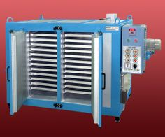 The trays of the Tray Dryer drys automatically with the backwash facility.