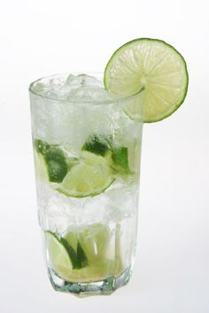 Skinny Bitch - Best low calorie drink ever! Muddled lime, vodka and soda water. Got to have a lot of lime! I Love it!