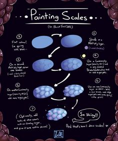 painting scales with Paint Tool SAI by Electrical-Socket.deviantart.com on @deviantART