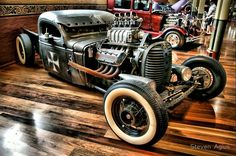 This #RatRod is the coolest. #Custom #Style #HotRod #Design