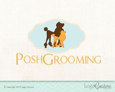 Pet Business Logo Design Bark And Bathe Grooming | Dog grooming ...