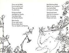The Bed Book: Sylvia Plath's Vintage Poems for Kids, Illustrated by Quentin Blake | Brain Pickings
