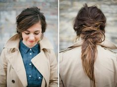 Upgrade your ponytail with this hair hack.