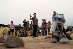 Des images de tournage pour Star Wars : The Force Awakens