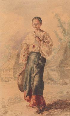Exposición Virtual. Biblioteca Nacional de España Philippines People, Miss Philippines, Philippines Fashion, Philippines Culture, Historical Art, Historical Clothing, Manila, Arte Filipino, Baro't Saya