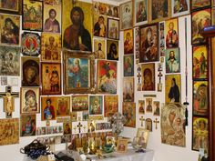 Religious Images, Religious Icons, Prayer Corner, Home Altar, Special Prayers, Catholic Art, Orthodox Icons, Twin Peaks, Wall Art